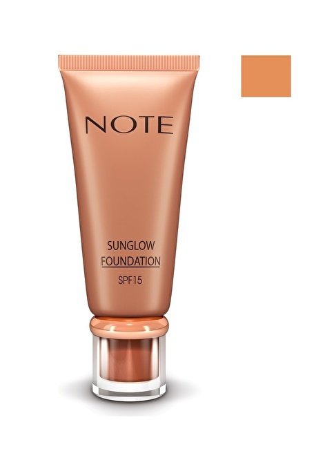 Note Sunglow Fondöten 30 35 Ml Renkli